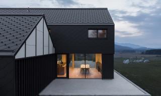 "Slovenia's Contrasting ""House M"" by SoNo Arhitekti"