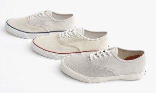 Japan's Pass the Baton Recycles Ship Sails for Special Edition Keds