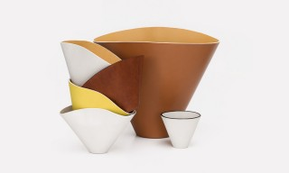 The LOEWE Leather Bowl Series Inspired by Lucie Rie