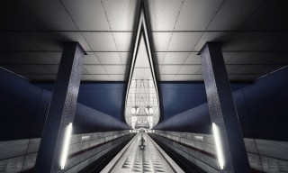 Photographer Nick Frank Captures Stunning Underground Stations Across the Globe
