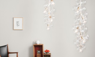 "PELLE Designs Customizable ""Bubble"" Chandelier Series"