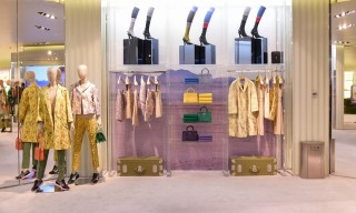 "Prada Holds 3 Simultaneous In-Store ""Iconoclasts"" Installations in Beijing"