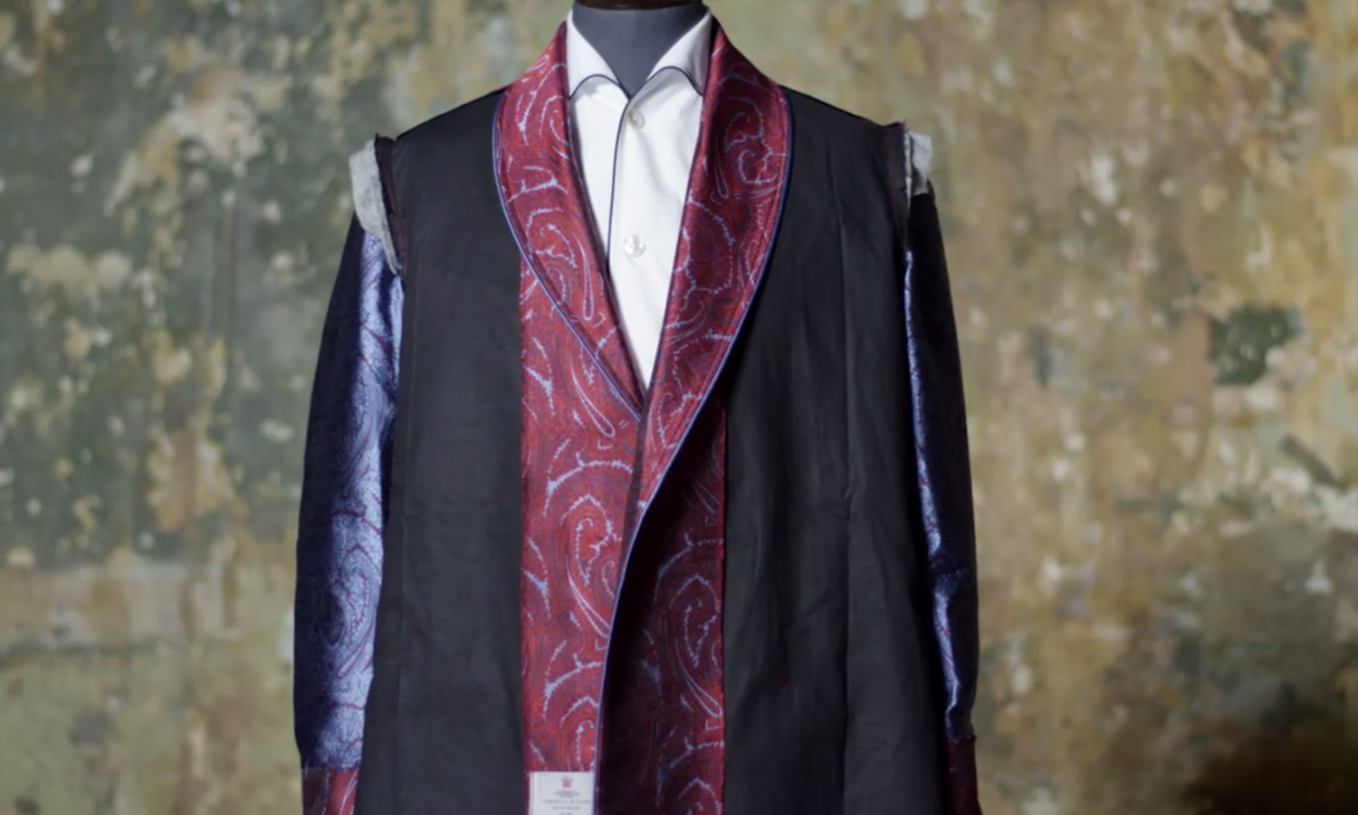 Turnbull & Asser Dressing Gown Film • Selectism