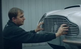 MR PORTER Visits the Aston Martin Works Restoration Garage