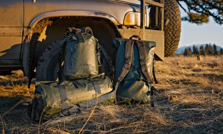 Filson Releases Its Water-Ready Dry Bag Collection in Green