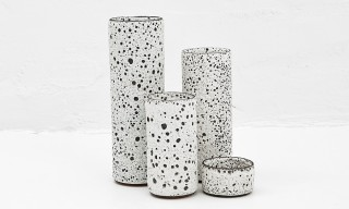 Volcanic Rock-Textured Ceramics by Josh Herman