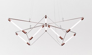 """Mobi"" Customizable Geometric Lighting by James Dieter"