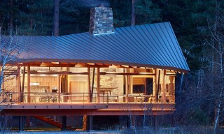 "Incredible Valley Views from the Sustainable ""Mazama House"""