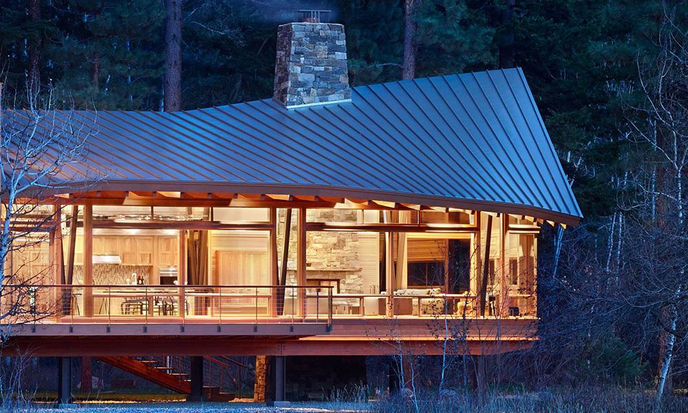 """The Sustainable """"Mazama House"""""""