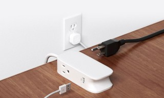 "Power up Anywhere With the Bluelounge ""Portiko"" Power Strip"