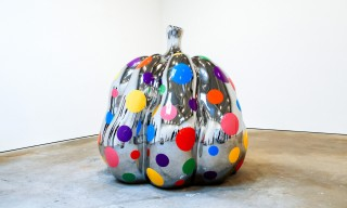 "Inside Yayoi Kusama's ""Give Me Love"" Exhibit at David Zwirner New York"