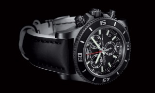 Breitling Superocean M2000 Chronograph in Black Steel