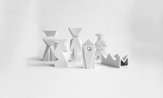 "The Porcelain Sculptural Vase ""O-L-H-O"" Series by Cecile Mestelan"