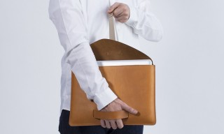 Minimalist Leather Carriers by France's Le Feuillet