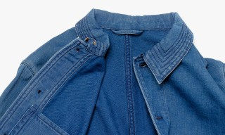 "Nudie Jeans ""Julius Indigo"" Overshirt for MR PORTER"