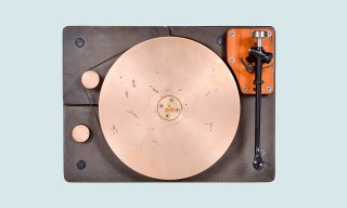 Get to Know the Handsome Cast Iron & Bronze Turntable by Fern & Roby