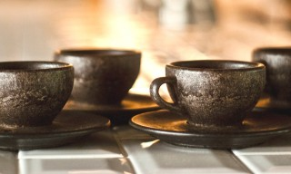 Kaffeeform Coffee Cups Made from Recycled Coffee Grounds