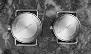 "TID Unveils the ""No.2"" Minimal Timepiece in Solid Brushed Steel"