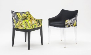 Emilio Pucci Designs an Original Print for Philippe Starck's Kartell Armchair