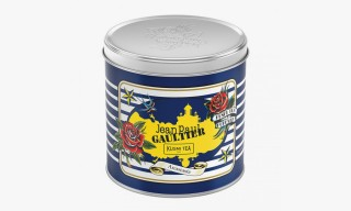 Jean Paul Gaultier Designs Kusmi Tea Tins for His Grand Palais Retrospective