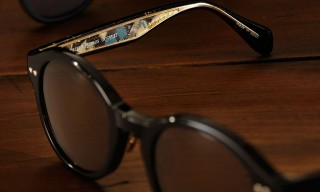 Oliver Peoples Collaborates with Historic Japanese Textile Manufacturer