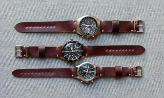 worn&wound Introduces Cordovan Watch Straps for the First Time