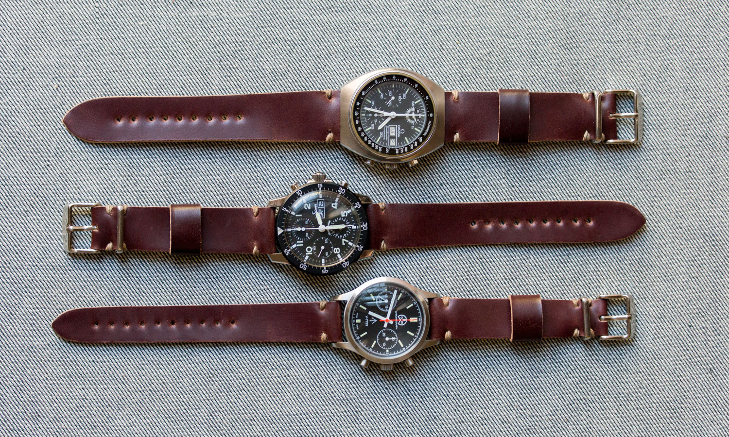 Worn Amp Wound Model 2 Cordovan Watch Straps 2015 Selectism