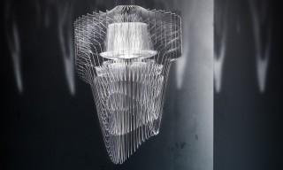"Zaha Hadid's ""Almost Aquatic"" LED Chandeliers for Italy's Slamp"