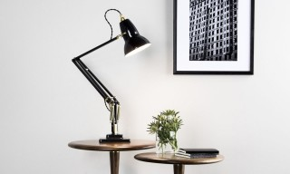 Anglepoise Updates Its Classic 1227 Brass Desk Lamp