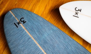 3×1 and Token Surfboards to Release Denim-Inlaid Boards
