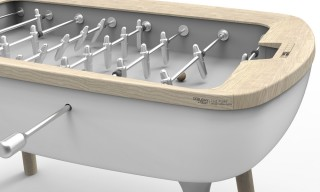 French-Made Foosball Tables from Debuchy by Toulet