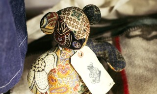Kumanokoido Makes Teddy Bears with Engineered Garments Fabric