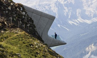 Catch Spectacular Views from the Messner Mountain Museum by Zaha Hadid
