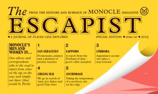 "Monocle Unveils New Travel & Business Publication, ""The Escapist"""