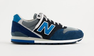 "Summers by the Lake Inspire the J.Crew & New Balance 996 ""Neptune Blue"""