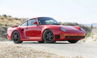 America's First Street Legal Porsche 959 to Auction