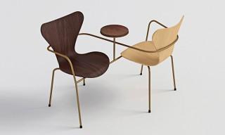 "Zaha Hadid, BIG Architects & More Reinterpret Arne Jacobsen's ""Series 7"" Chair"