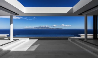 "Spectacular Mediterranean Sea Views from Kefalonia's Open Plan ""House T"""