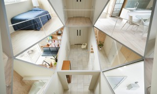 Geometry Rules in Japan's Open & Airy Kame House