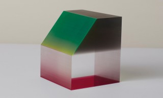 Light & Color Play in Phillip Low's Mini Lucite Prism Sculptures