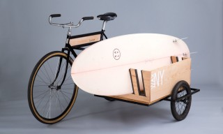 "The ""Side Car Bicycle"" Offers Transport and a U-Haul Rolled Into One"