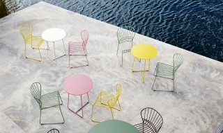 """Reso"" Outdoor Steel Furniture Inspired by the Swedish West Coast"