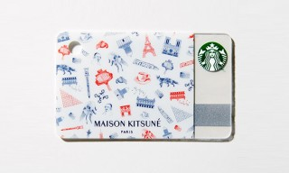 Maison Kitsune Designs a Special Starbucks Card for GQ Japan