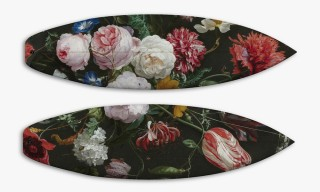 18th-Century Baroque Art Feature on Boom Art's 504 Surf & Skateboard Series