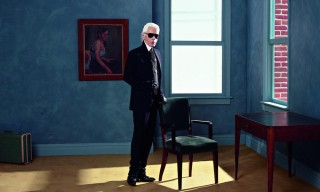 Preview Karl Lagerfeld's Upcoming Photo Exhibition in Paris