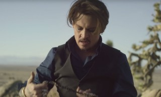 "Vintage Cars & Rock Music in Johnny Depp's New Short Film for Dior ""Sauvage"""