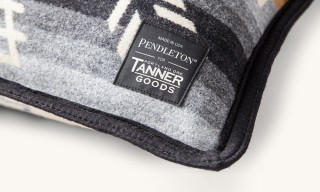 Tanner Goods Teams with Pendleton for a Set of Cozy Homewares