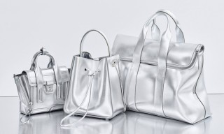 "3.1 Phillip Lim Metallic ""Tin for Ten"" Anniversary Bags"
