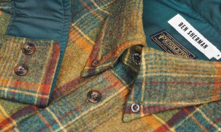Ben Sherman Uses Pendleton Fabric for New Dress Shirt Collection