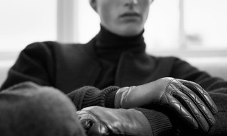 Sophisticated Cashmere & Leather Winter Accessories from COS